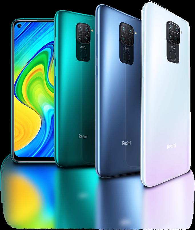 Xiaomi Redmi Note 9 Colours