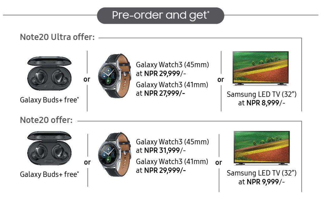 Samsung Prebooking offer